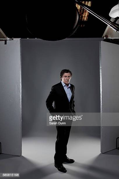 Actor Gabriel Byrne is photographed for Channel 4 on April 11 2012 in London England