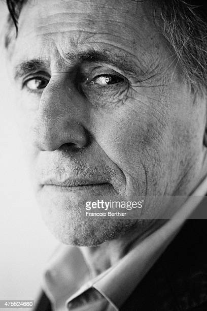 Actor Gabriel Byrne is photographed on May 18 2015 in Cannes France