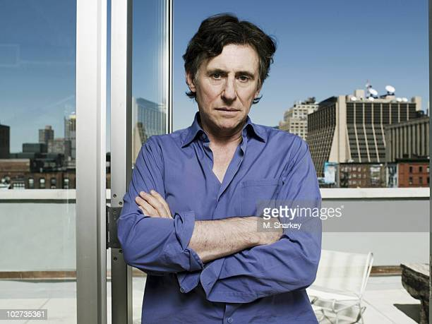 Actor Gabriel Byrne poses for a portrait session in New York USA