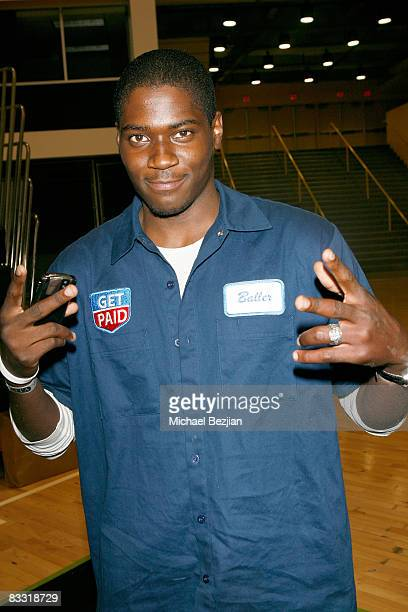 Actor Gabriel Cannon attends Tag The World's Celebrity Basketball Game on October 16 2008 in Long Beach California