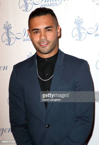 Actor Gabriel Chavarria attends the 32nd Annual Imagen Awards at the Beverly Wilshire Four Seasons Hotel on August 18 2017 in Beverly Hills California