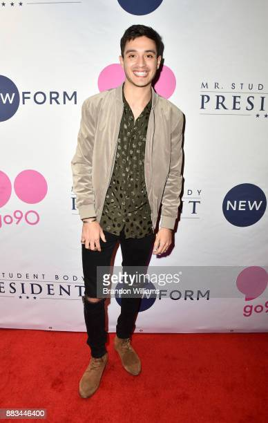 Actor Gabriel Conte attends the premiere of Go90's 'Mr Student Body President' at TCL Chinese 6 Theatres on November 30 2017 in Hollywood California