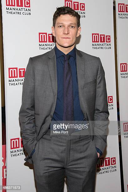 Actor Gabriel Ebert attends the after party for the Broadway opening night for Casa Valentina at Copacabana on April 23 2014 in New York City