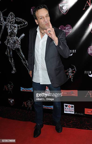 Actor Gabriel Jarret at the 2nd Annual Artemis Film Festival Red Carpet Opening Night/Awards Presentation held at Ahrya Fine Arts Movie Theater on...