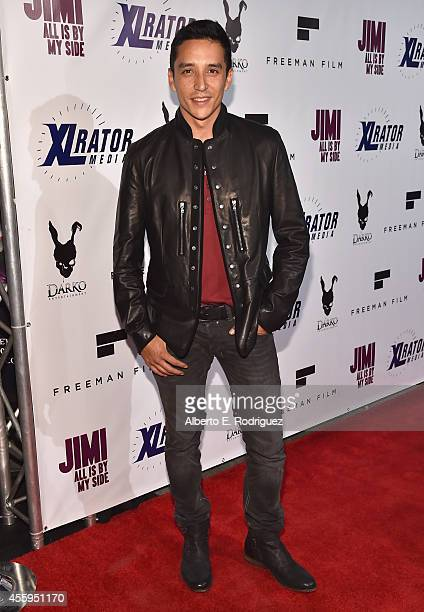 Actor Gabriel Luna arrives to the Los Angeles premiere of Jimi All Is By My Side at ArcLight Cinemas on September 22 2014 in Hollywood California
