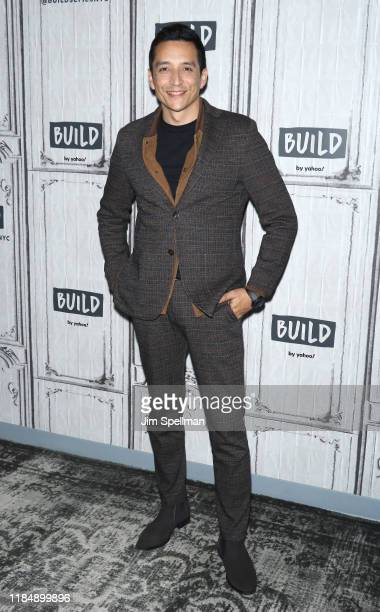 Actor Gabriel Luna attends the Build Series to discuss Terminator Dark Fate at Build Studio on November 01 2019 in New York City