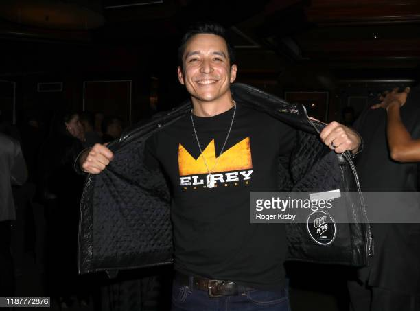 Actor Gabriel Luna attends the grand opening night for RUN The First Live Action Thriller presented By Cirque du Soleil at Luxor Hotel and Casino on...