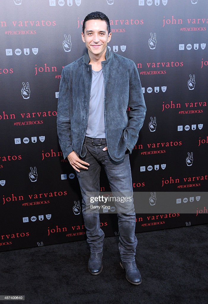 Actor Gabriel Luna attends the International Peace Day celebration at John Varvatos on September 21, 2014 in Los Angeles, California.