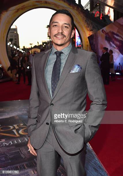 """Actor Gabriel Luna attends The Los Angeles World Premiere of Marvel Studios' Doctor Strange"""" in Hollywood CA on Oct 20th 2016"""