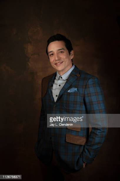 Actor Gabriel Luna from 'Hala' is photographed for Los Angeles Times on January 25 2019 at the 2019 Sundance Film Festival in Salt Lake City Utah...