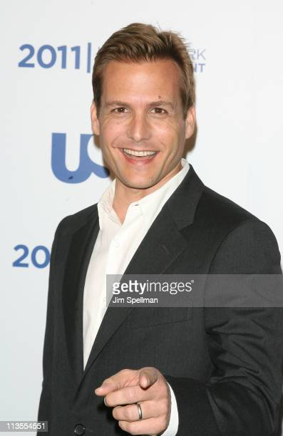 Actor Gabriel Macht attends the 2011 USA Upfront at The Tent at Lincoln Center on May 2 2011 in New York City
