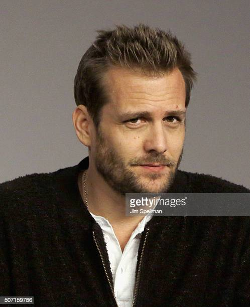 Actor Gabriel Macht attends the Meet the Actor Gabriel Macht Suits at Apple Store Soho on January 27 2016 in New York City