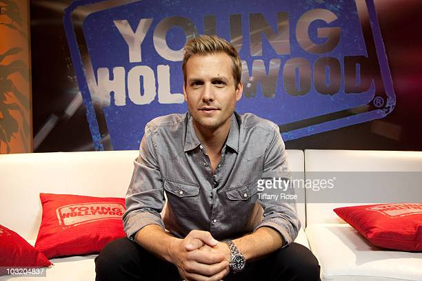 LOS ANGELES CA AUGUST 01 Actor Gabriel Macht attends Young Hollywood Studios on August 1 2010 in Los Angeles California
