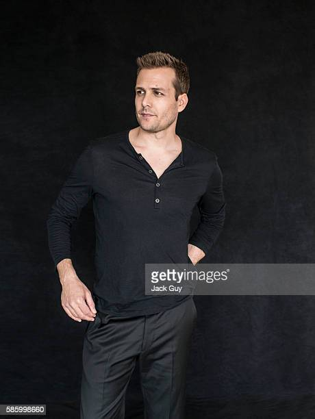 Actor Gabriel Macht is photographed for Emmy Magazine on December 16 2013 in Los Angeles California PUBLISHED IMAGE