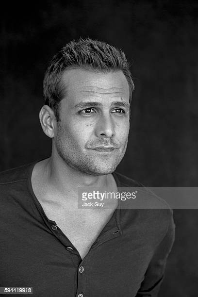 Actor Gabriel Macht is photographed for Emmy Magazine on December 16 2013 in Los Angeles California
