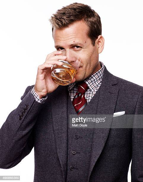 Actor Gabriel Macht is photographed for Sharp Magazine on August 5 in New York City. PUBLISHED IMAGE