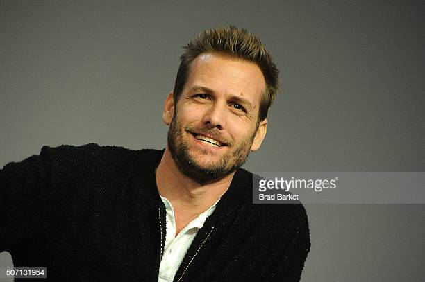 Actor Gabriel Macht participates in the Meet the Actor series to discuss Suits at Apple Store Soho on January 27 2016 in New York City