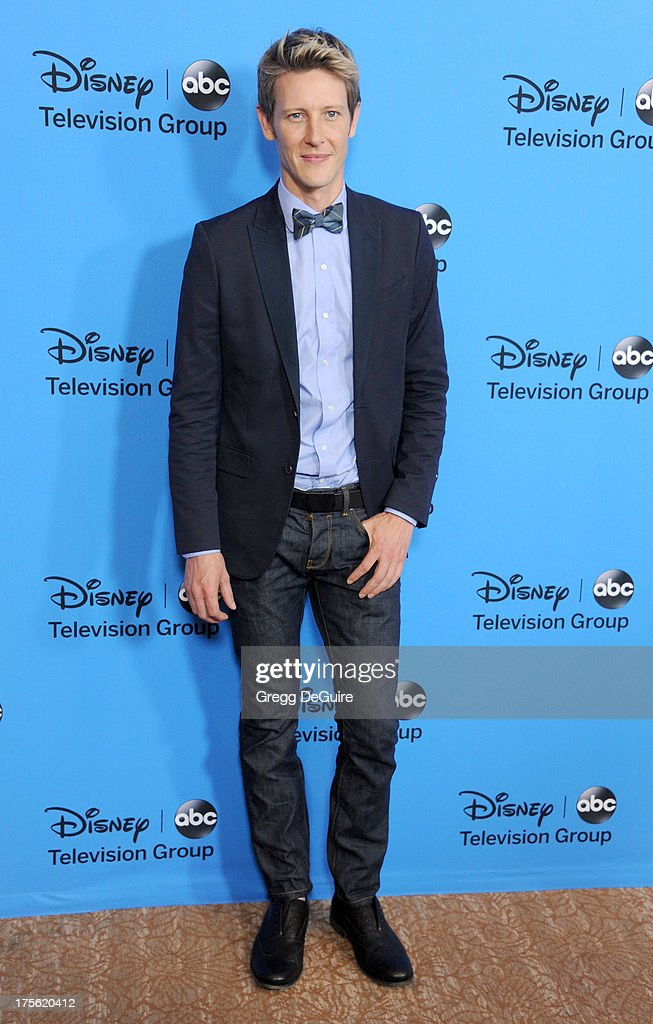 Actor Gabriel Mann arrives at the 2013 Disney/ABC Television Critics Association's summer press tour party at The Beverly Hilton Hotel on August 4, 2013 in Beverly Hills, California.