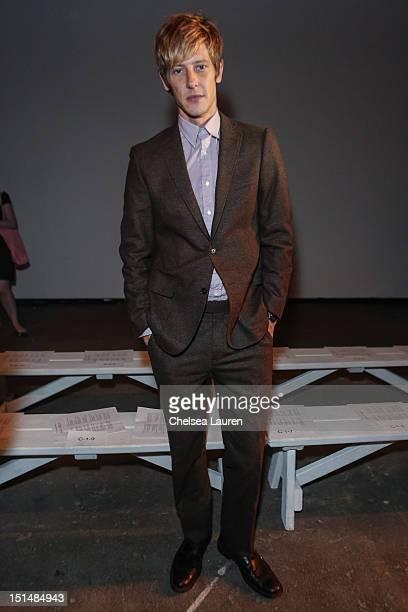 Actor Gabriel Mann attends Billy Reid's spring 2013 fashion show during MercedesBenz Fashion Week at Eyebeam on September 7 2012 in New York City