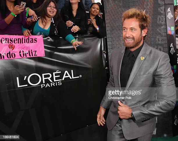 Actor Gabriel Soto arrives at the 13th annual Latin GRAMMY Awards held at the Mandalay Bay Events Center on November 15 2012 in Las Vegas Nevada