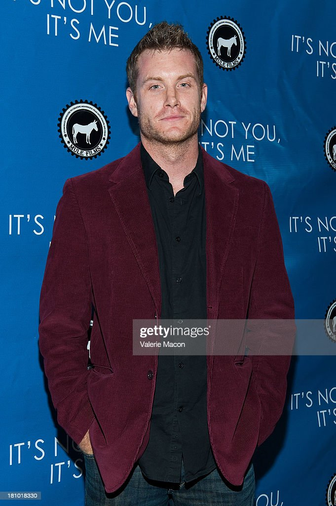 Actor Gabriel Voss arrives at the premiere of 'It's Not You, It's Me' at Downtown Independent Theatre on September 18, 2013 in Los Angeles, California.