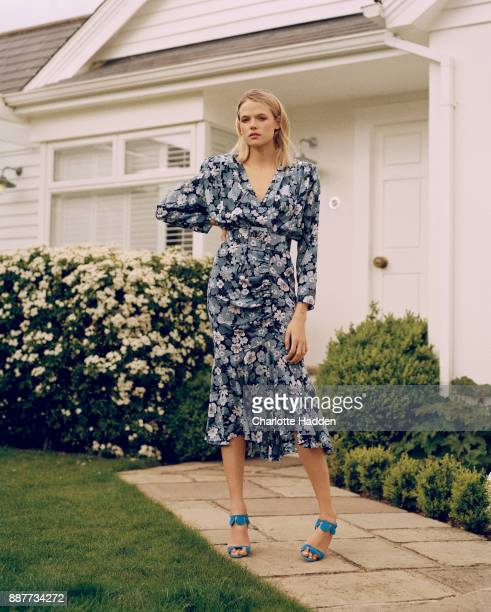 Actor Gabriella Wilde is photographed for the Telegraph on July 26 2017 in London England
