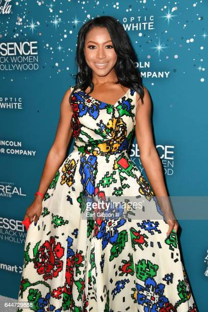 Actor Gabrielle Dennis at Essence Black Women in Hollywood Awards at the Beverly Wilshire Four Seasons Hotel on February 23 2017 in Beverly Hills...