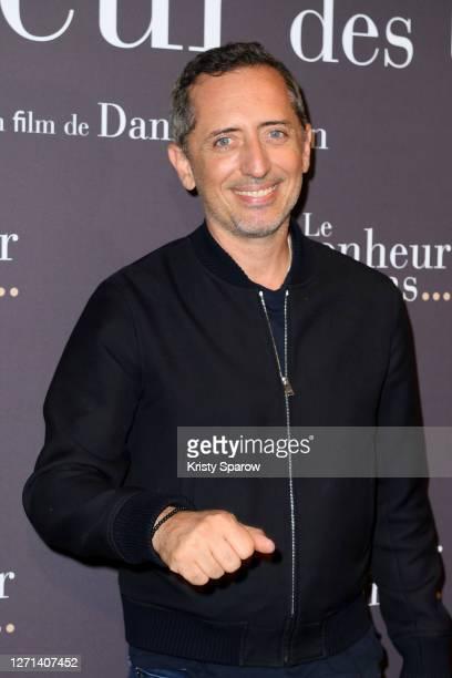 "Actor Gad Elmaleh attends the ""Le Bonheur Des Uns"" Premiere at Pathe Opera on September 08, 2020 in Paris, France."