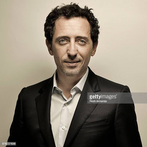 Actor Gad Elmaleh is photographed for Self Assignment on June 21, 2013 in Cabourg, France.