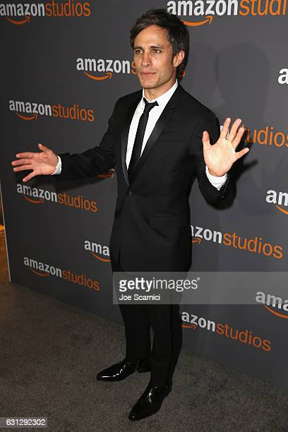 Actor Gael García Bernal attends Amazon Studios Golden Globes Celebration at The Beverly Hilton Hotel on January 8 2017 in Beverly Hills California