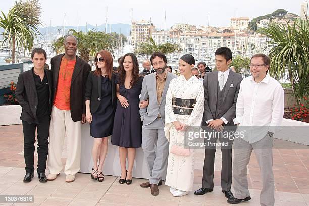 Actor Gael Garcia Bernal, Actor Danny Glover, Actress Julianne Moore, Actress Alice Braga, Actor Don McKellar, Actress Yoshino Kimura, Actor Yusuke...