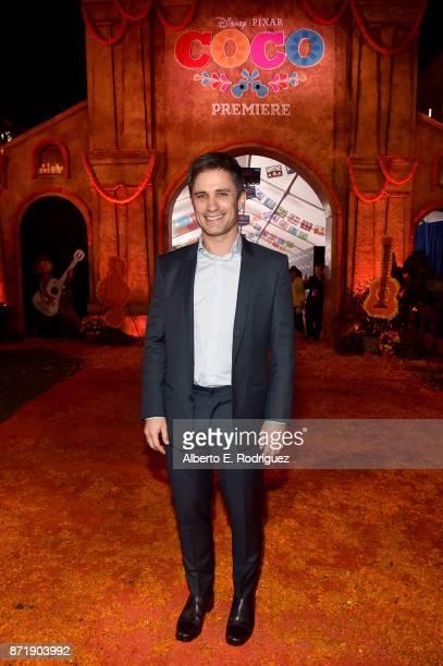 Actor Gael Garcia Bernal at the US Premiere of DisneyPixar's 'Coco' at the El Capitan Theatre on November 8 in Hollywood California