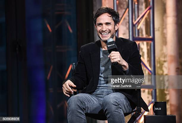 Actor Gael Garcia Bernal attends AOL Build to discuss his show 'Mozart In The Jungle' at AOL Studios on January 20 2016 in New York City