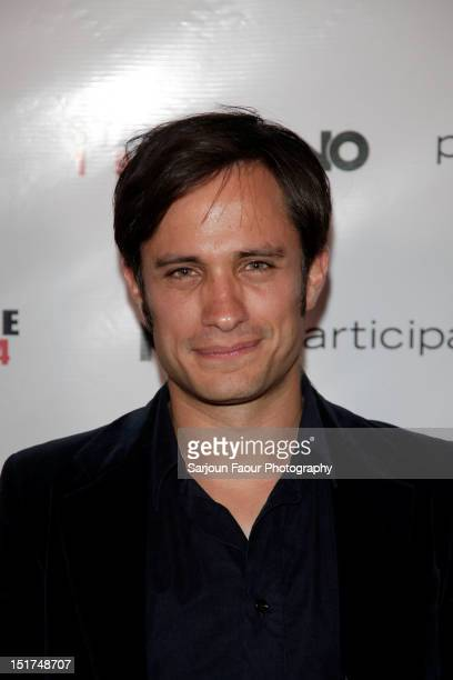 Actor Gael Garcia Bernal attends Participant Media's 'State 194' After Party during the 2012 Toronto International Film Festival at Brassaii on...