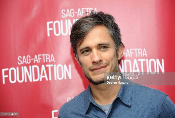 Actor Gael Garcia Bernal attends SAGAFTRA Foundation Conversations 'Mozart In The Jungle' at The Robin Williams Center on February 12 2018 in New...