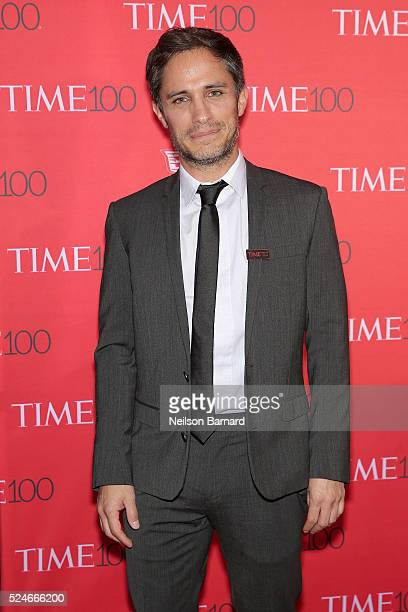 Actor Gael Garcia Bernal attends the 2016 Time 100 Gala at Frederick P Rose Hall Jazz at Lincoln Center on April 26 2016 in New York City
