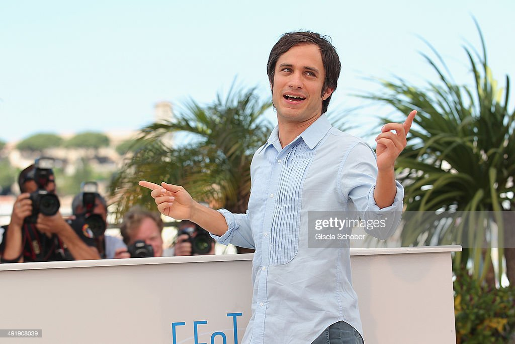 Actor Gael Garcia Bernal attends 'The Disappearance of Eleanor Rigby' photocall at the 67th Annual Cannes Film Festival on May 18, 2014 in Cannes, France.