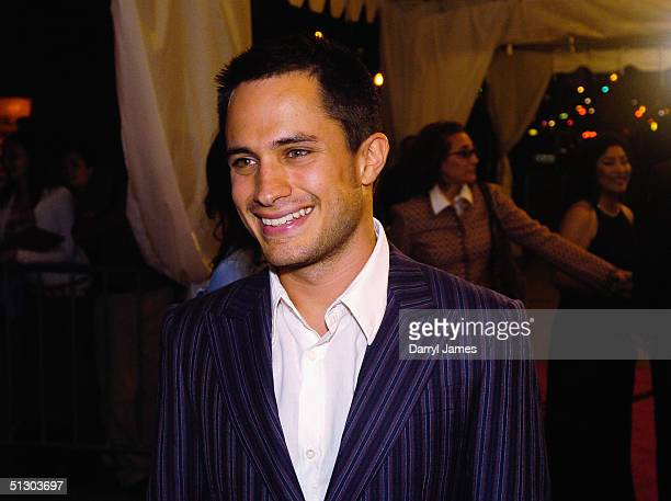 """Actor Gael Garcia Bernal attends the gala screening of """"The Motorcycle Diaries"""" at Roy Thomson Hall during the 29th Annual Toronto International Film..."""