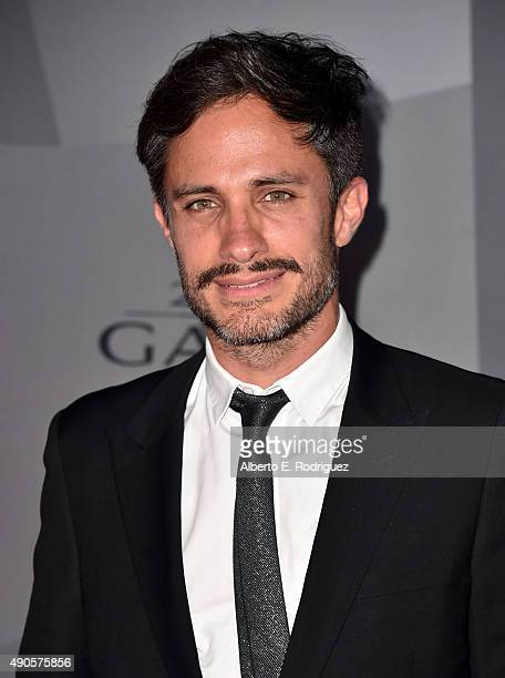 Actor Gael Garcia Bernal attends The Los Angeles Philharmonic 2015/2016 Season Opening Night Gala at the Walt Disney Concert Hall on September 29...