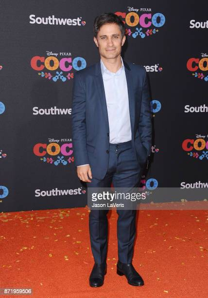 Actor Gael Garcia Bernal attends the premiere of 'Coco' at El Capitan Theatre on November 8 2017 in Los Angeles California