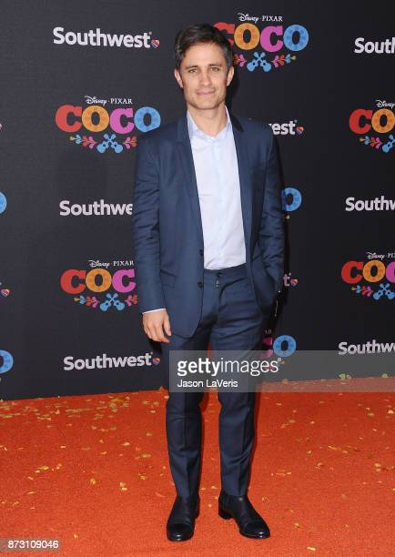 Actor Gael Garcia Bernal attends the premiere of 'Coco' at El Capitan Theatre on November 8 2017 in Los Angeles California