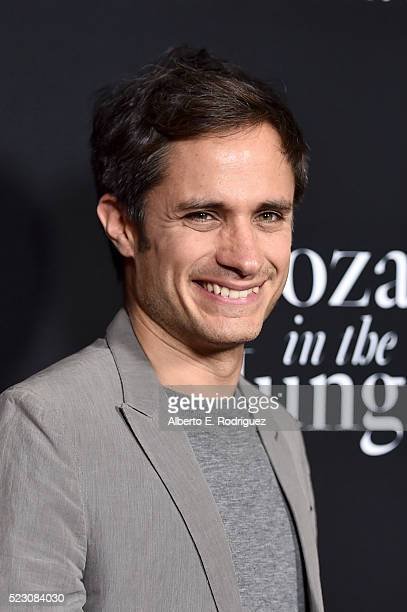 Actor Gael Garcia Bernal attends the screening and QA for Amazon's Mozart In The Jungle at Hollywood Roosevelt Hotel on April 21 2016 in Hollywood...