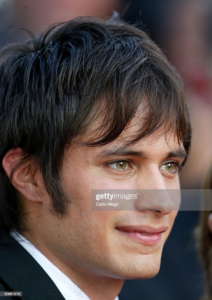 Actor Gael Garcia Bernal attends the screening of the film 'Diarios de Motocicleta' premiere at the Palais des Festivals during the 57th International Cannes Film Festival May 19, 2004 in Cannes, France.