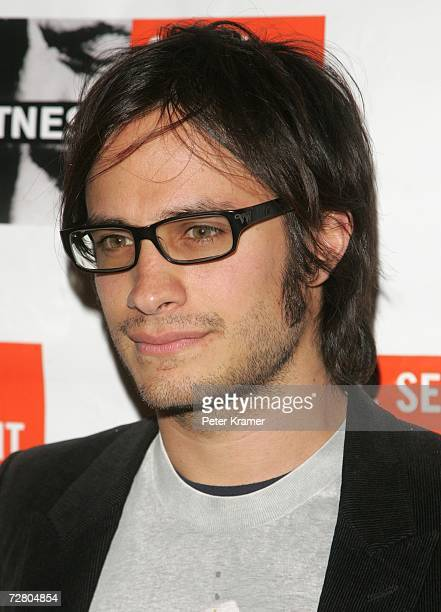 Actor Gael Garcia Bernal attends the second annual gala dinner and concert to benefit Witness which helps promote human rights causes worldwide...