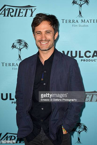 Actor Gael Garcia Bernal attends Variety's Creative Conscience Symposium during the 2016 Toronto International Film Festival at The Spoke Club on...