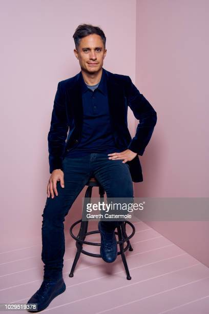 Actor Gael Garcia Bernal from the film 'The Kindergarten Teacher' poses for a portrait during the 2018 Toronto International Film Festival at...