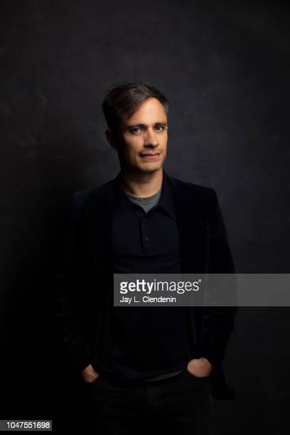 Actor Gael Garcia Bernal from 'The Kindergarten Teacher' is photographed for Los Angeles Times on September 8 2018 in Toronto Ontario PUBLISHED IMAGE...