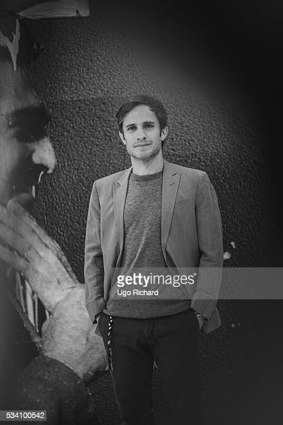 Actor Gael Garcia Bernal is photographed for Gala on May 15 2016 in Cannes France