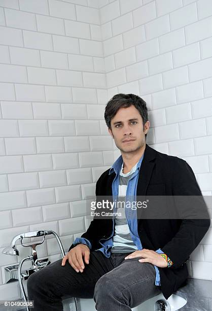 Actor Gael Garcia Bernal is photographed for Self Assignment on September 19 2016 in San Sebastian Spain