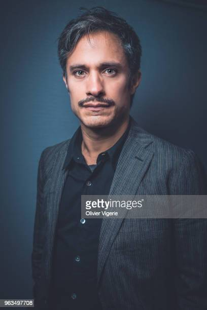 Actor Gael Garcia Bernal is photographed for Self Assignment on April 2018 in Cannes France